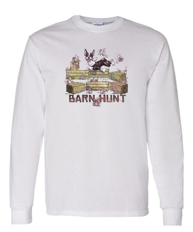 Boston Terrier - Barnhunt - Long Sleeve T-Shirt