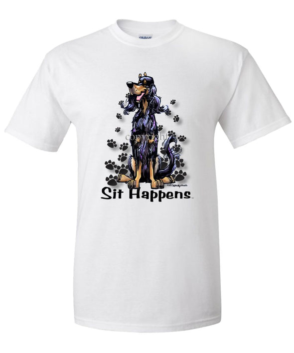 Gordon Setter - Sit Happens - T-Shirt