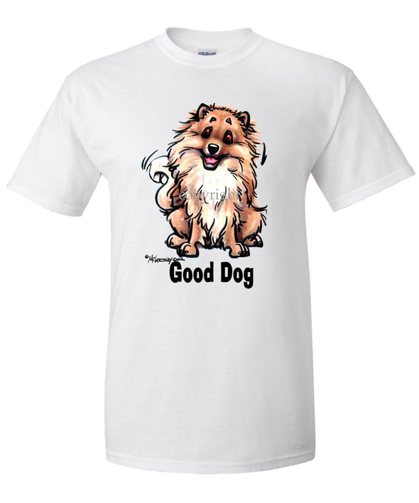 Pomeranian - Good Dog - T-Shirt