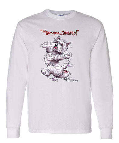 West Highland Terrier - Treats - Long Sleeve T-Shirt