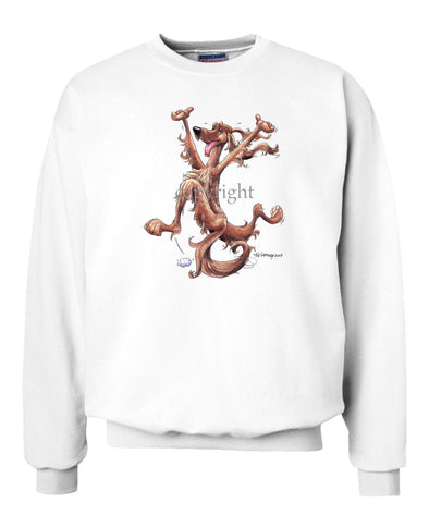 Irish Setter - Happy Dog - Sweatshirt