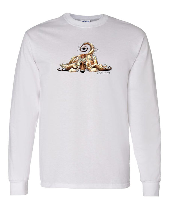 Afghan Hound - Rug Dog - Long Sleeve T-Shirt