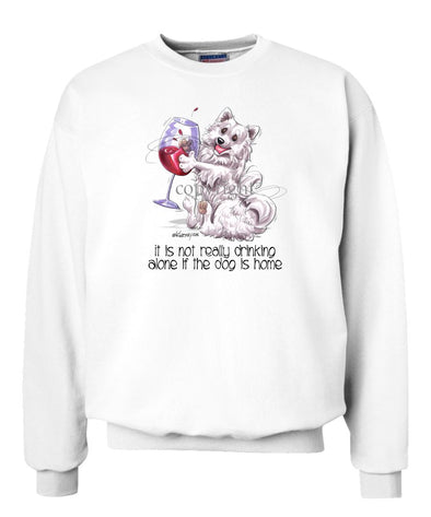 American Eskimo Dog - It's Not Drinking Alone - Sweatshirt