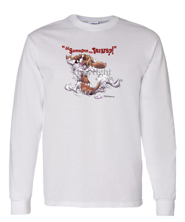 Cavalier King Charles  Blenheim - Treats - Long Sleeve T-Shirt