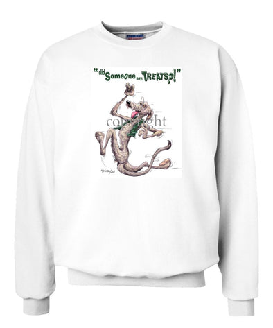 Irish Wolfhound - Treats - Sweatshirt