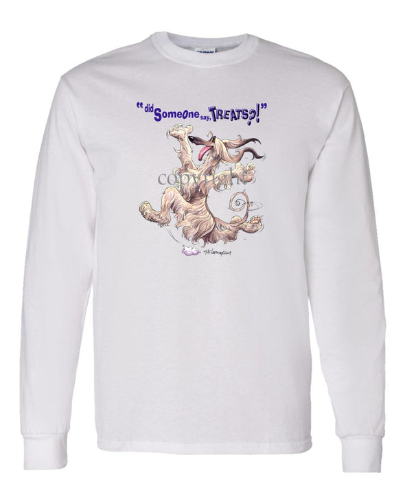 Afghan Hound - Treats - Long Sleeve T-Shirt