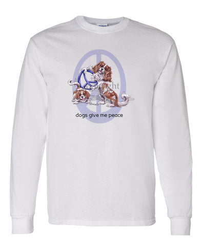 Cavalier King Charles - Peace Dogs - Long Sleeve T-Shirt