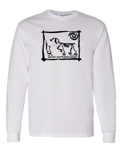 German Shorthaired Pointer - Cavern Canine - Long Sleeve T-Shirt
