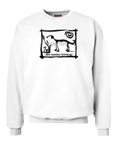 Flat Coated Retriever - Cavern Canine - Sweatshirt