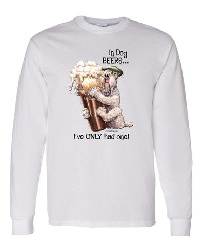 Soft Coated Wheaten - Dog Beers - Long Sleeve T-Shirt
