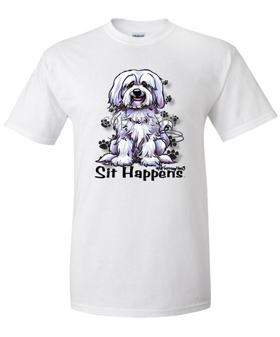 Havanese - Sit Happens - T-Shirt