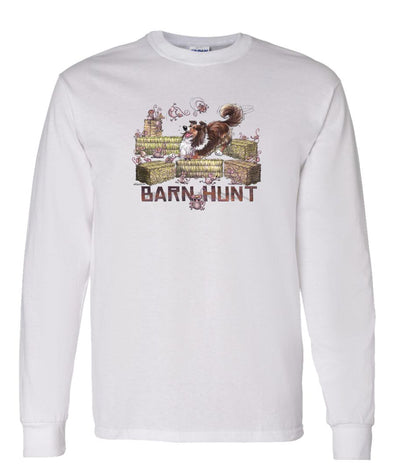 Shetland Sheepdog - Barnhunt - Long Sleeve T-Shirt