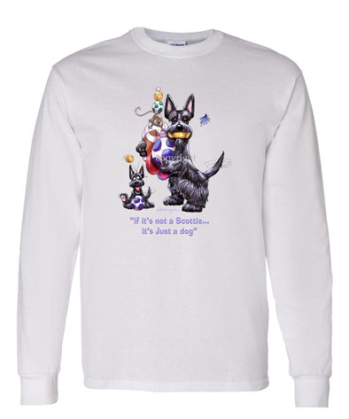Scottish Terrier - Not Just A Dog - Long Sleeve T-Shirt