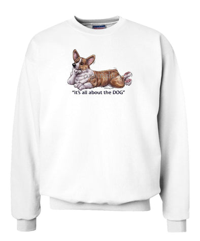 Welsh Corgi Pembroke - All About The Dog - Sweatshirt