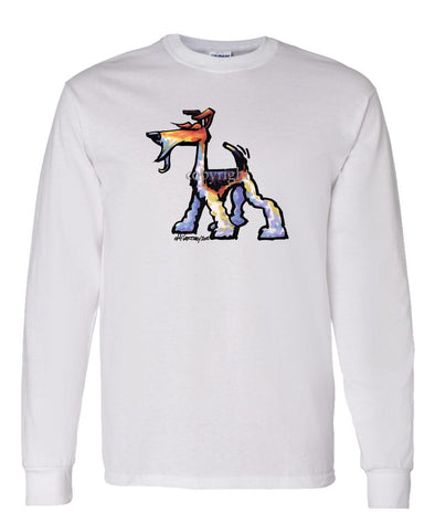 Wire Fox Terrier - Cool Dog - Long Sleeve T-Shirt