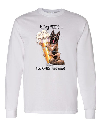 Belgian Tervuren - Dog Beers - Long Sleeve T-Shirt