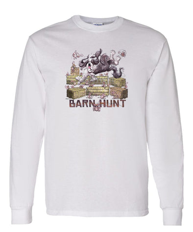 Bearded Collie - Barnhunt - Long Sleeve T-Shirt