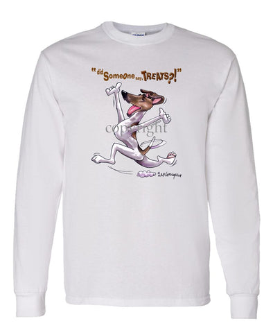 Smooth Fox Terrier - Treats - Long Sleeve T-Shirt