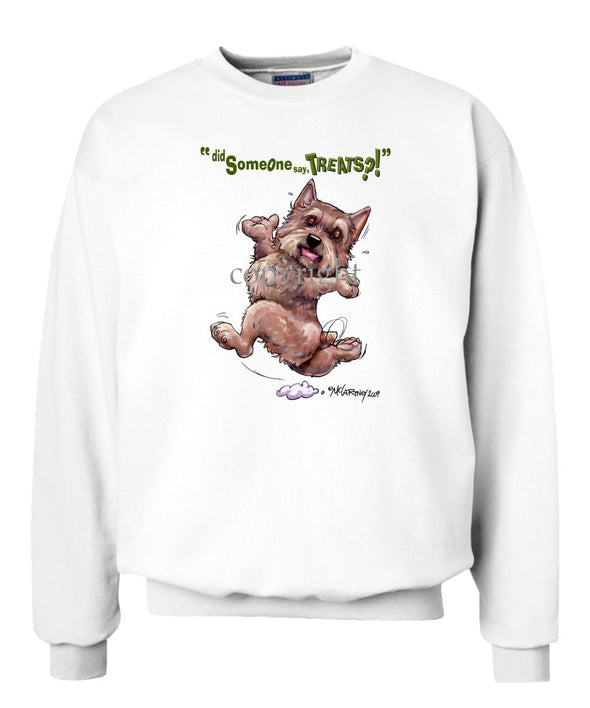 Norwich Terrier - Treats - Sweatshirt