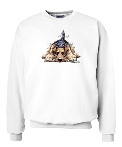 Airedale Terrier - Rug Dog - Sweatshirt