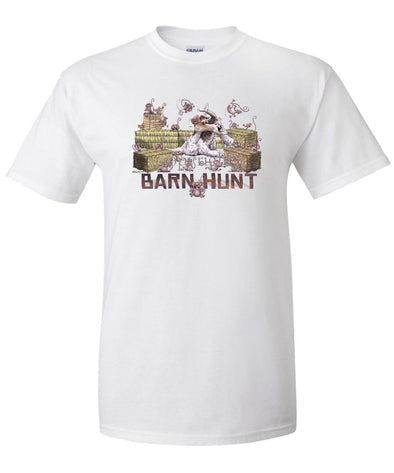 Wire Fox Terrier - Barnhunt - T-Shirt