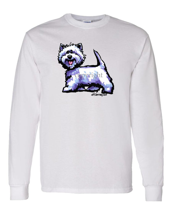 West Highland Terrier - Cool Dog - Long Sleeve T-Shirt
