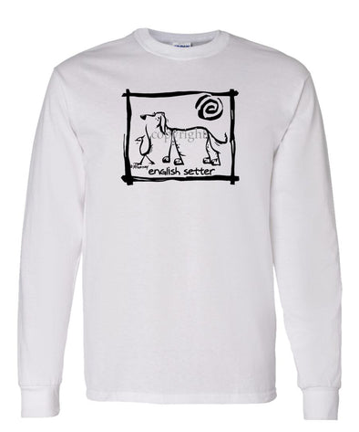 English Setter - Cavern Canine - Long Sleeve T-Shirt