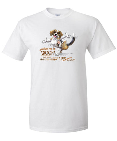 Beagle - You Had Me at Woof - T-Shirt