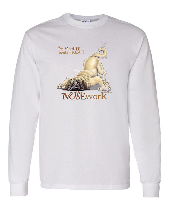 Mastiff - Nosework - Long Sleeve T-Shirt