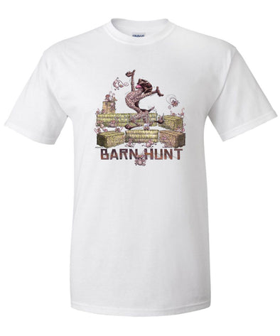 German Shorthaired Pointer - Barnhunt - T-Shirt