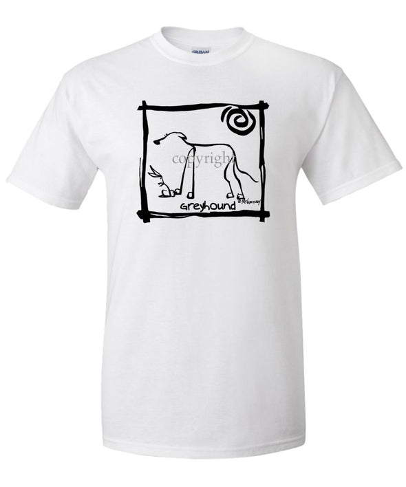 Greyhound - Cavern Canine - T-Shirt