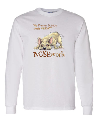 French Bulldog - Nosework - Long Sleeve T-Shirt