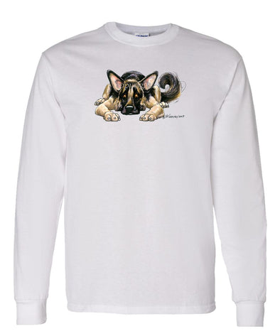 German Shepherd - Rug Dog - Long Sleeve T-Shirt