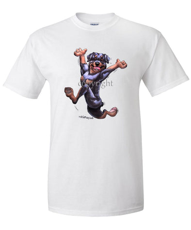 Rottweiler - Happy Dog - T-Shirt