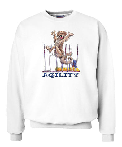 Golden Retriever - Agility Weave II - Sweatshirt