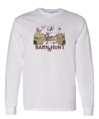 West Highland Terrier - Barnhunt - Long Sleeve T-Shirt
