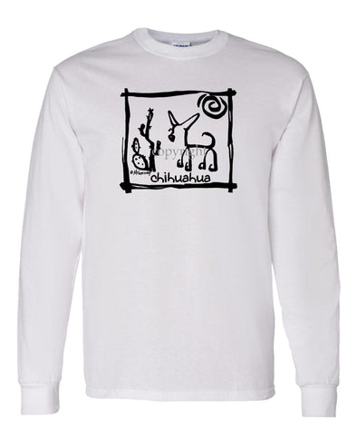Chihuahua  Smooth - Cavern Canine - Long Sleeve T-Shirt
