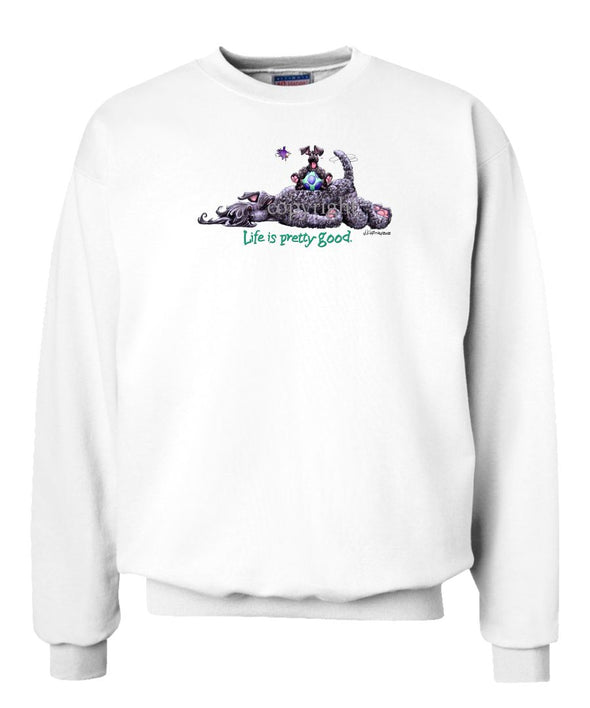 Kerry Blue Terrier - Life Is Pretty Good - Sweatshirt
