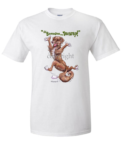 Nova Scotia Duck Tolling Retriever - Treats - T-Shirt