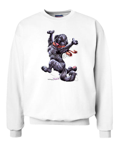 Newfoundland - Happy Dog - Sweatshirt