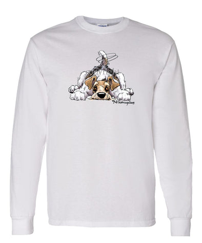 Wire Fox Terrier - Rug Dog - Long Sleeve T-Shirt