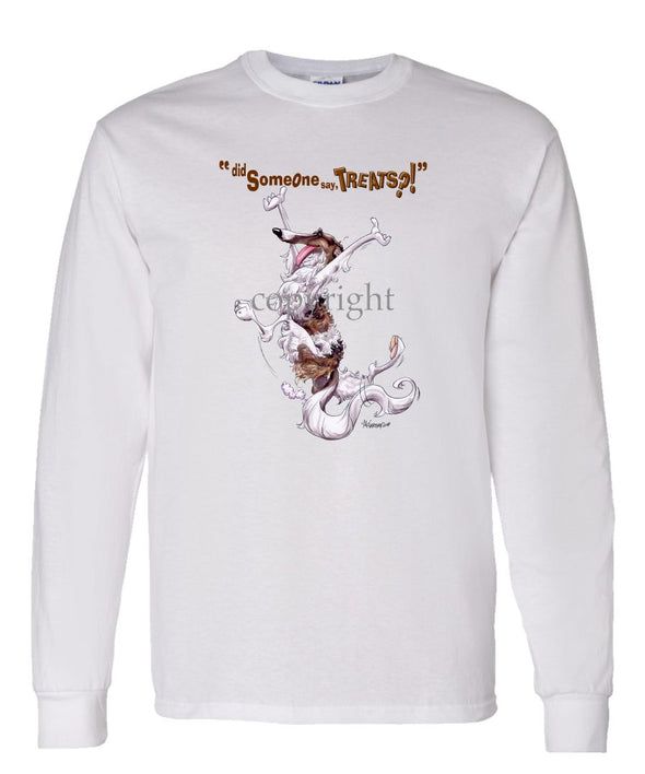 Borzoi - Treats - Long Sleeve T-Shirt