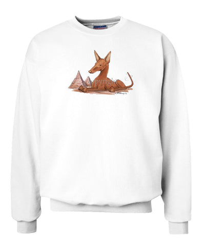 Pharoah Hound - Caricature - Sweatshirt