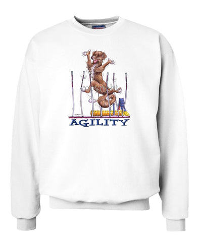 Nova Scotia Duck Tolling Retriever - Agility Weave II - Sweatshirt
