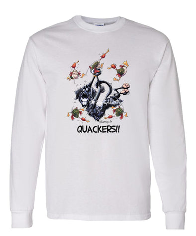 Flat Coated Retriever - Quackers - Mike's Faves - Long Sleeve T-Shirt