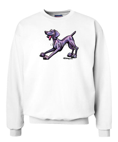Weimaraner - Cool Dog - Sweatshirt
