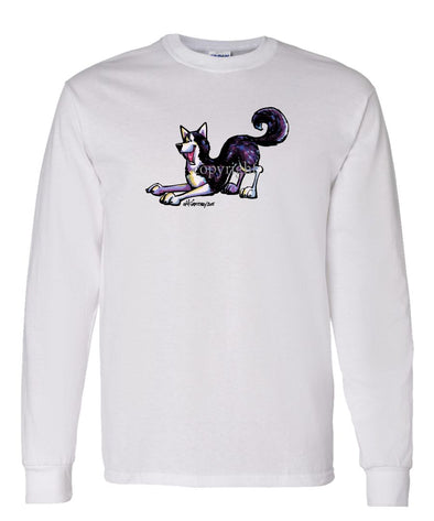 Siberian Husky - Cool Dog - Long Sleeve T-Shirt