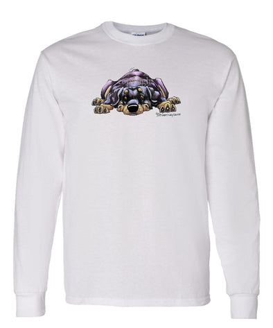 Rottweiler - Rug Dog - Long Sleeve T-Shirt