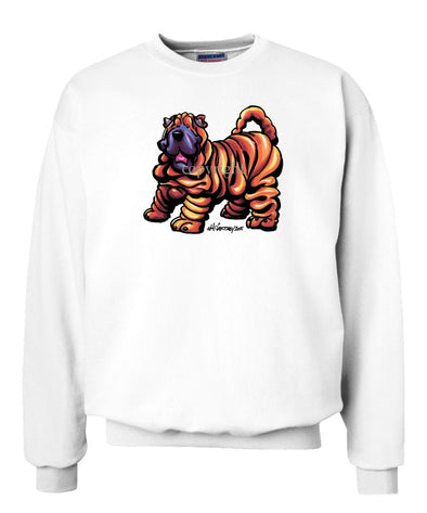Shar Pei - Cool Dog - Sweatshirt