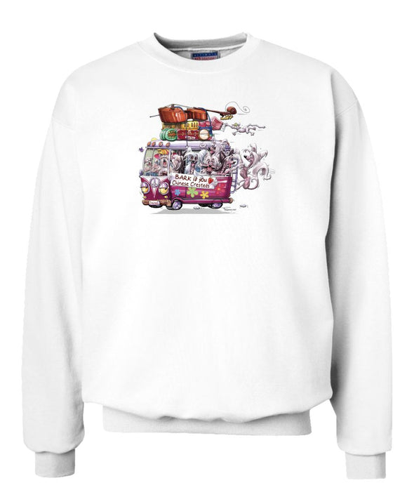 Chinese Crested - Bark If You Love Dogs - Sweatshirt
